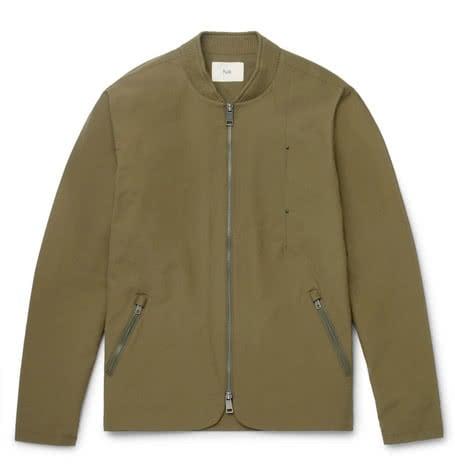 Luxe Digital luxury lifestyle olive bomber jacket standard folk
