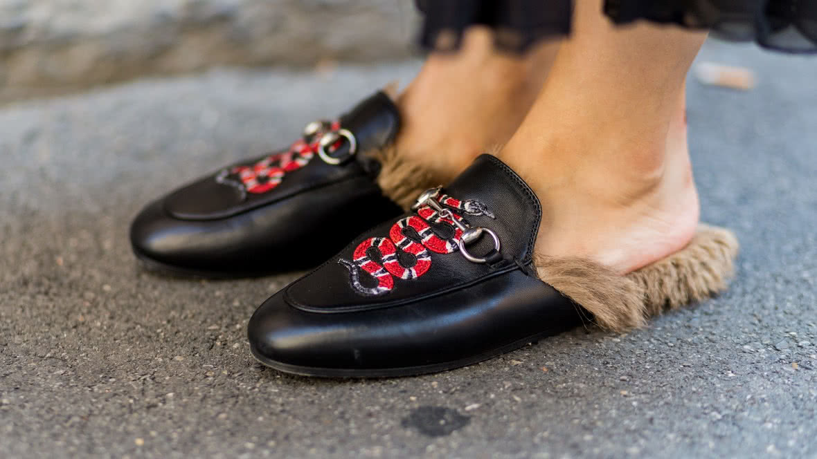Gucci shoes Luxe Digital luxury fashion Millennials
