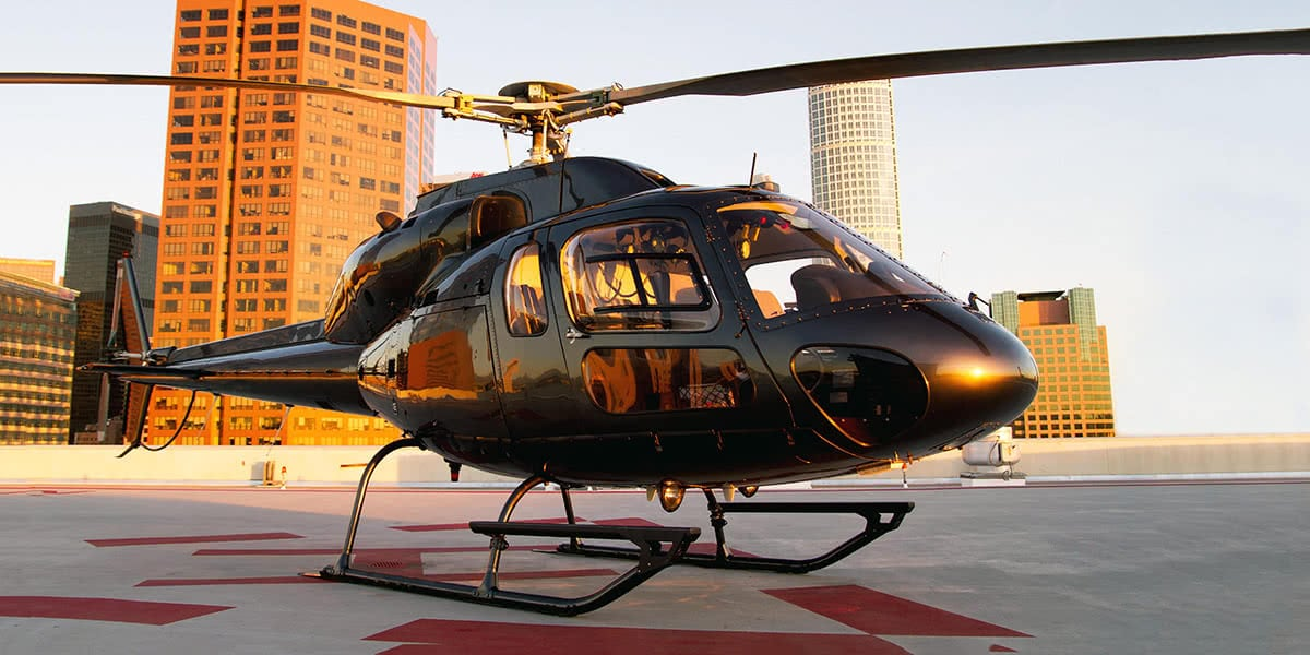 Luxe Digital travel luxury helicopter charter NYC Wings Air