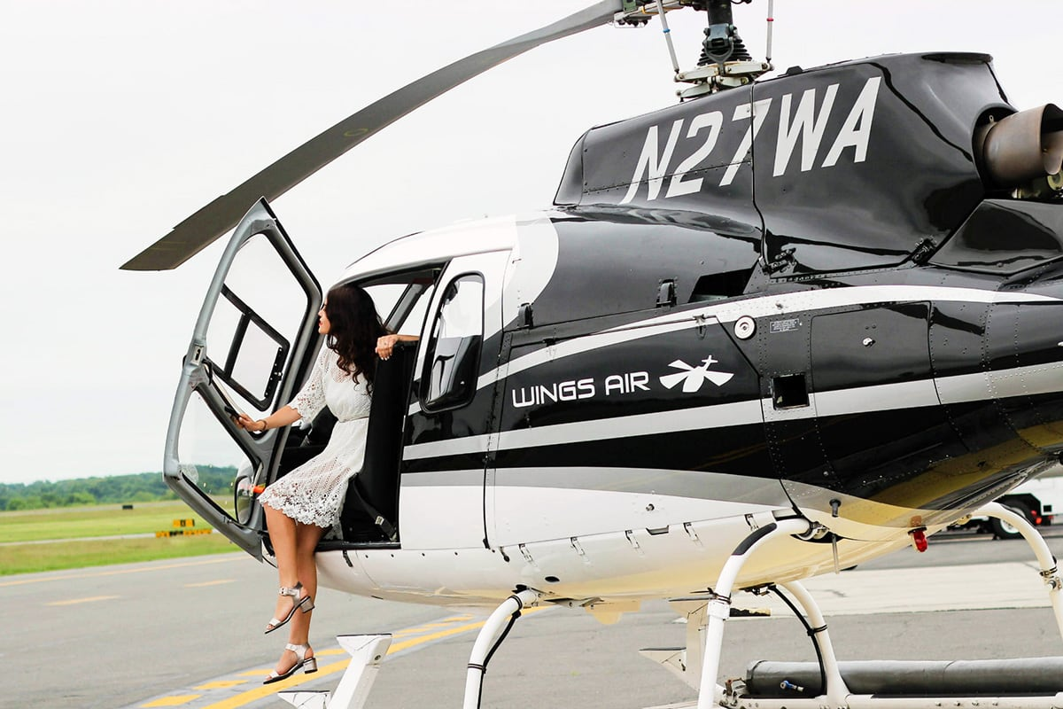 Luxe Digital travel ultra-luxury AStar Airbus AS350BA Wings Air helicopter