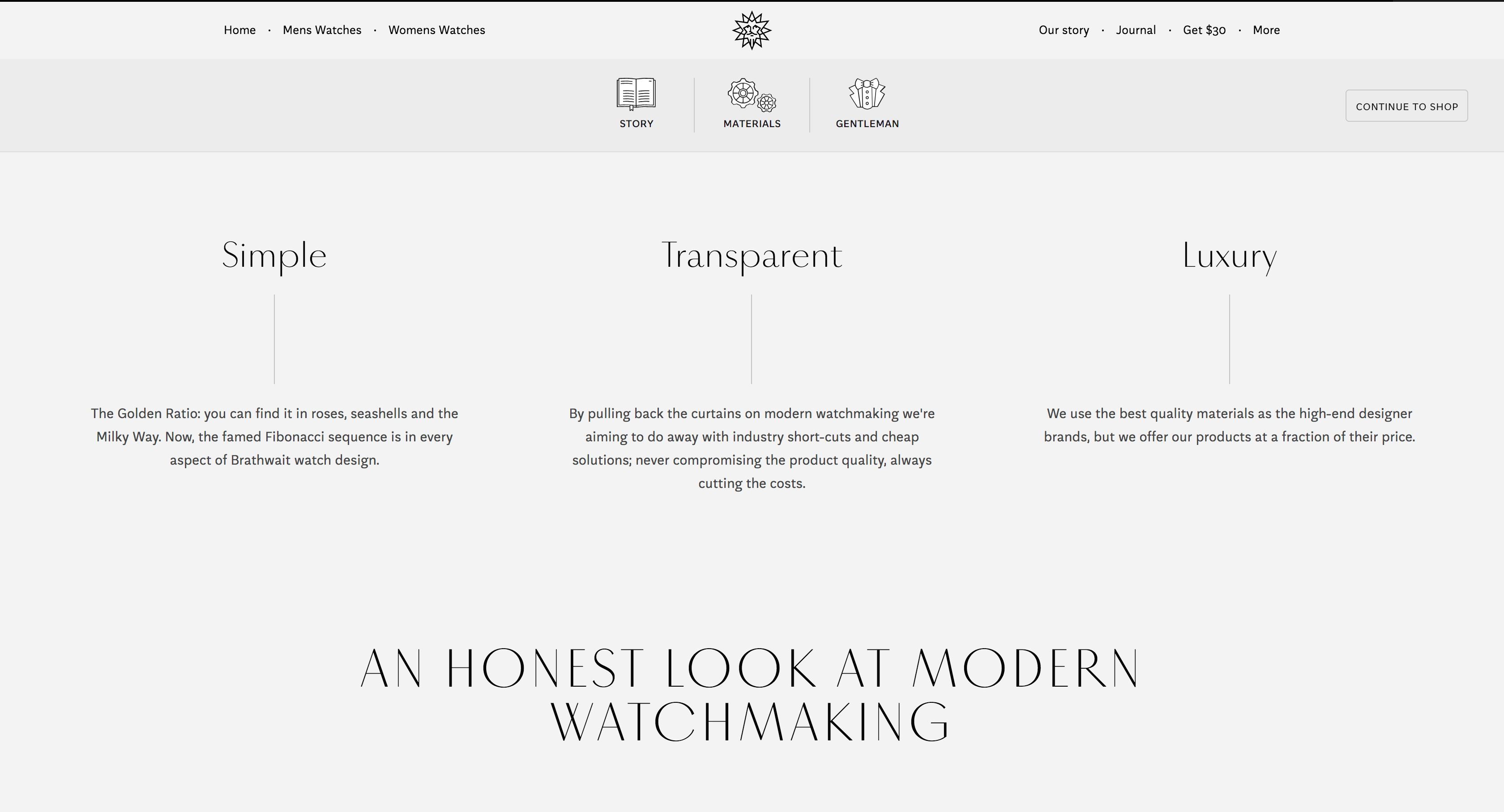 Luxe Digital luxury watch Brathwait transparency