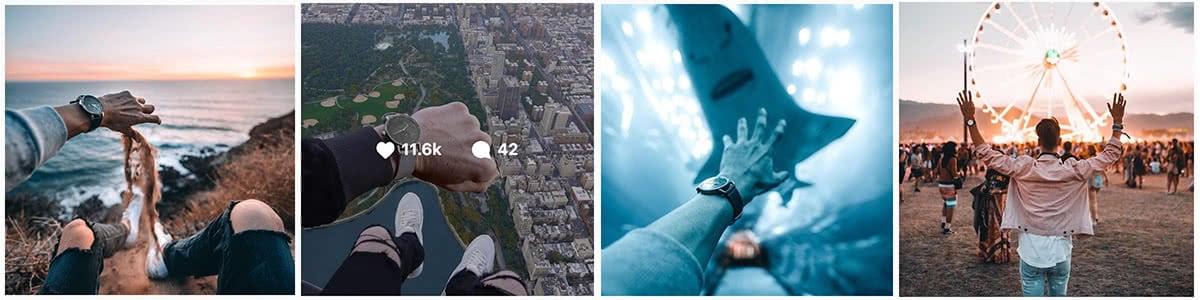 Luxe Digital luxury watch MVMT Instagram