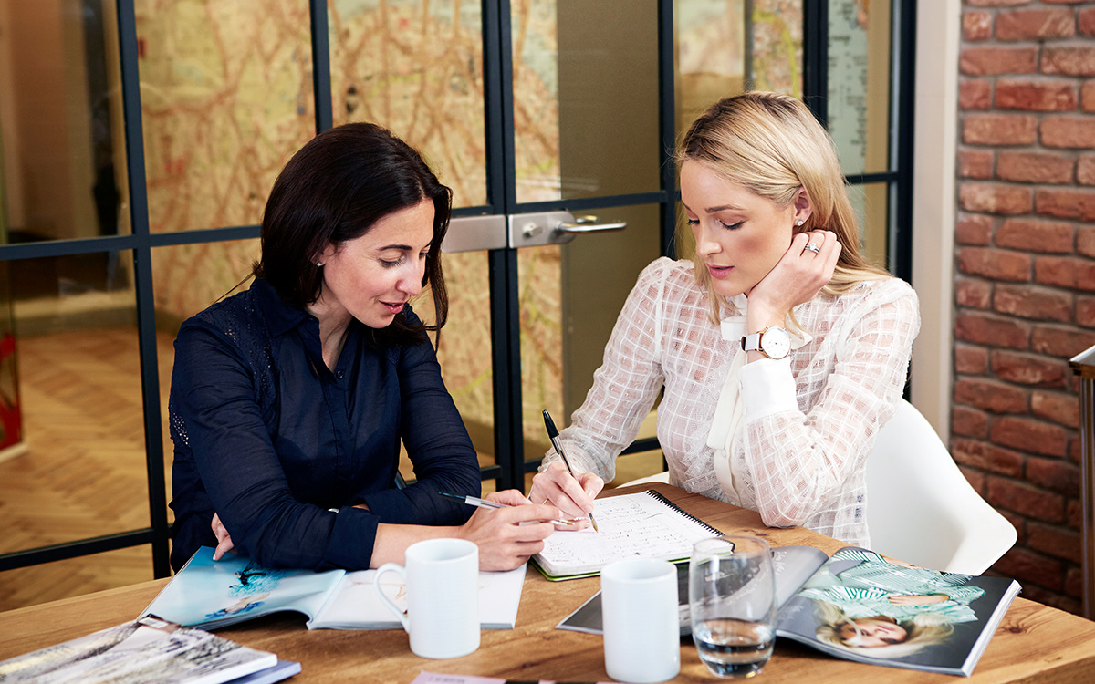 Luxe Digital sustainable luxury millennials Diana Verde Nieto and Storm Keating
