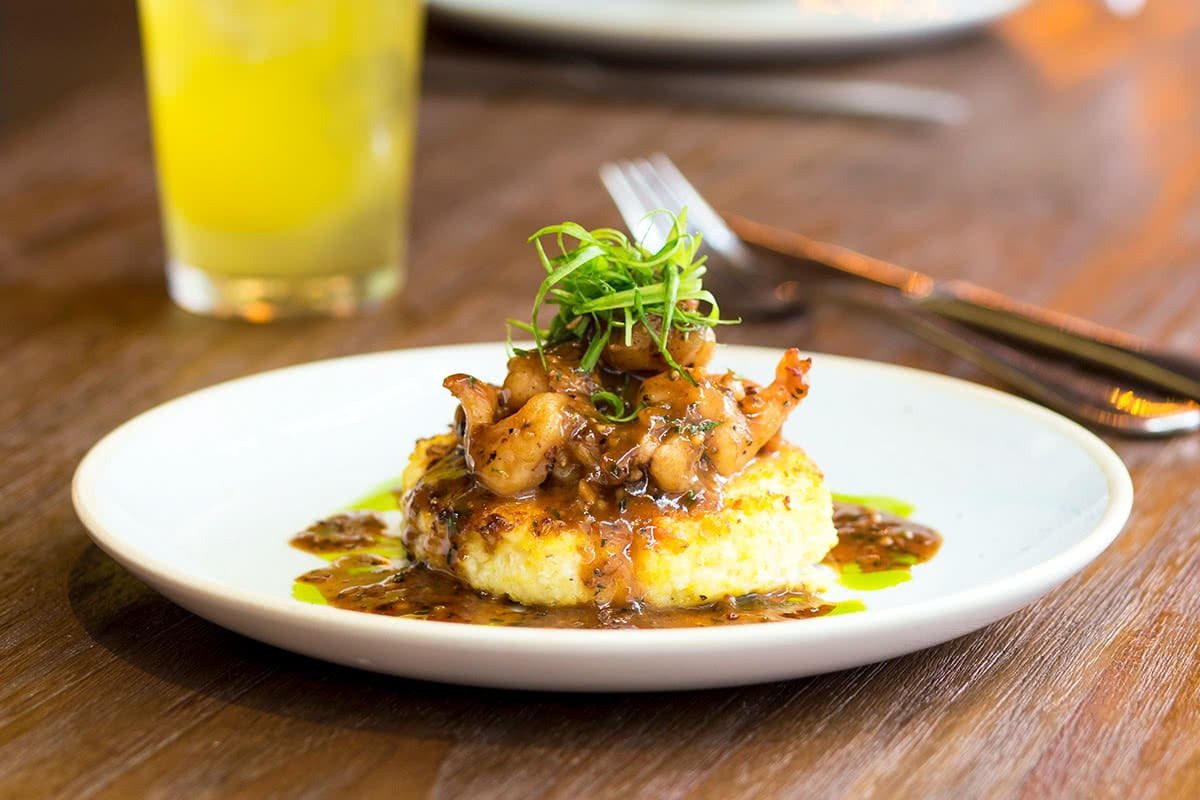 Luxe Digital restaurant Singapore The Bird MBS Southern BBQ Shrimp