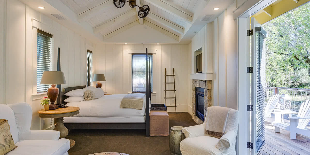 Country-Chic Luxury Meets Sonoma Wine Country At The Farmhouse Inn
