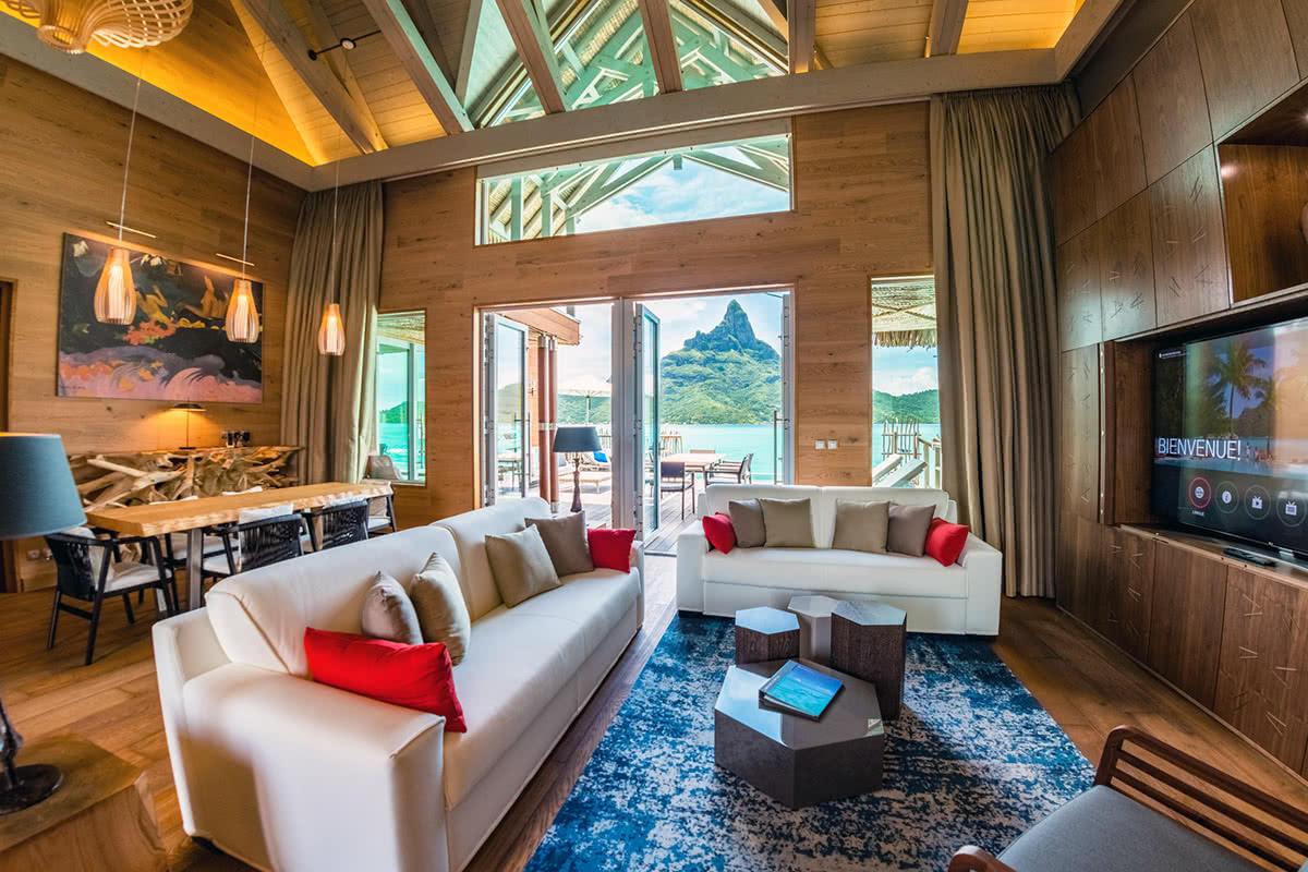 Luxe Digital luxury hotel The Brando Bora Bora French Polynesia