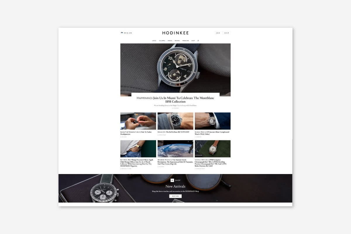 Luxe Digital luxury watch interview Hodinkee mechanical watches