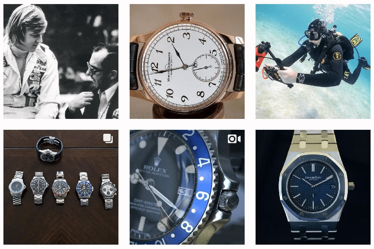 Luxe Digital luxury mechanical watches Hodinkee Instagram