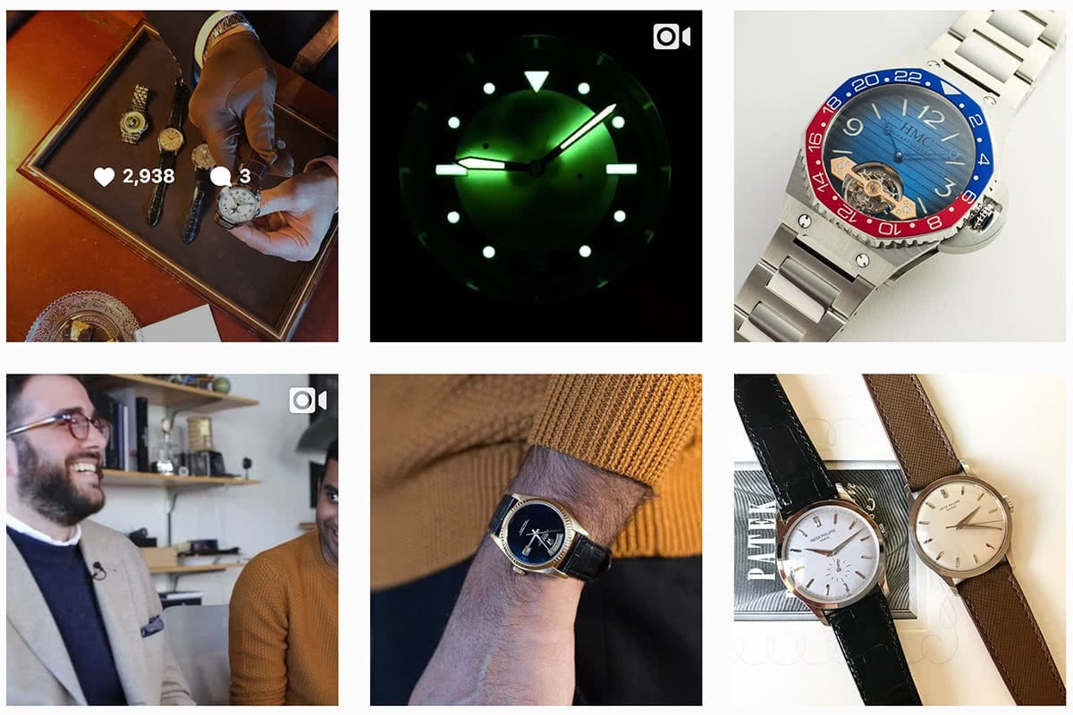 Luxe Digital luxury watch Hodinkee Instagram