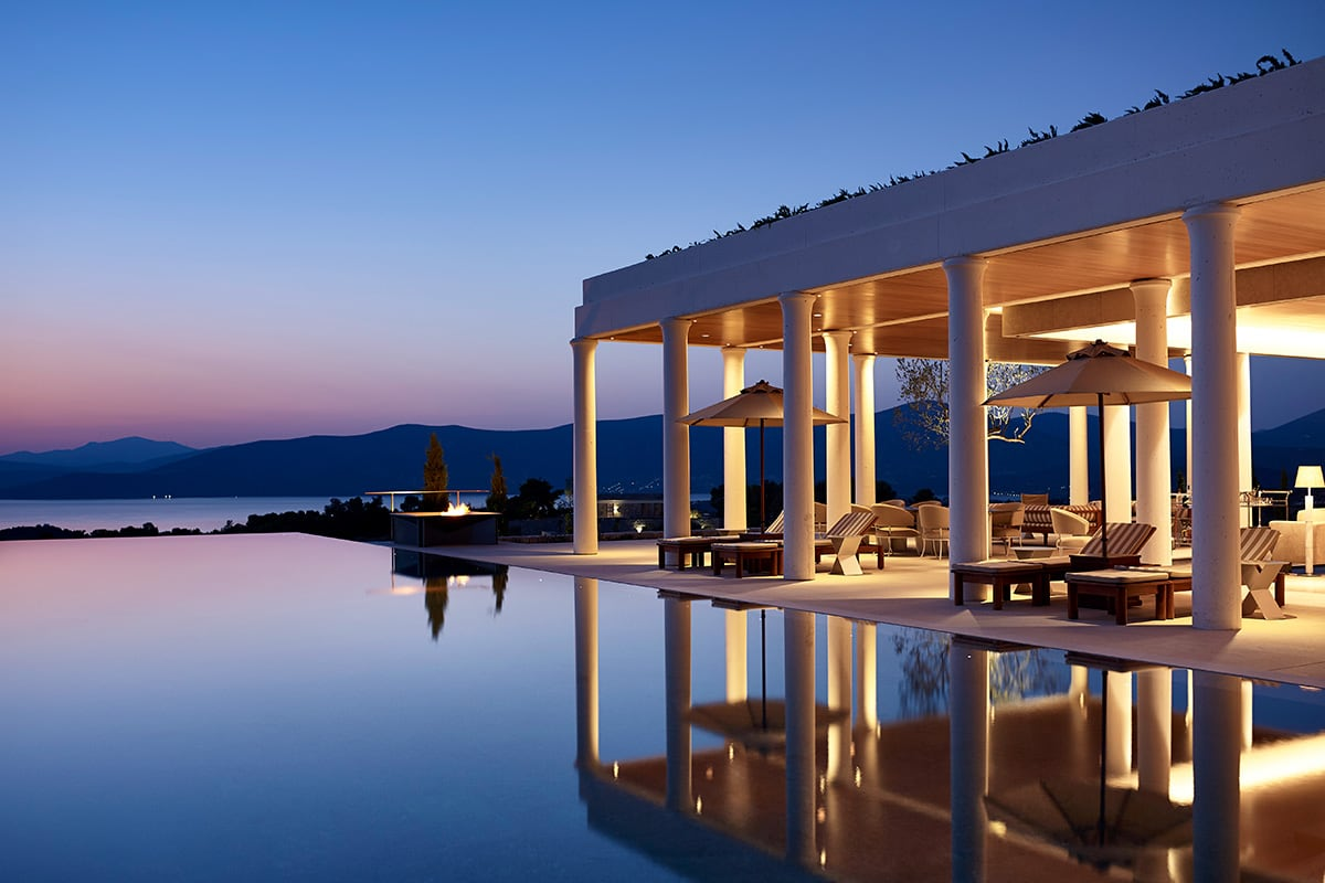 Luxe Digital Miltos Kambourides luxury real estate hospitality Amanzoe