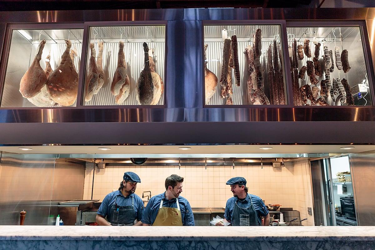 Luxe Digital luxury restaurant Healdsburg Valette kitchen