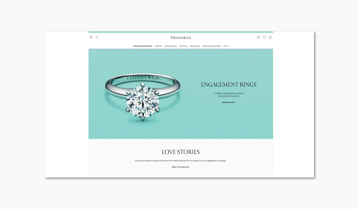 Luxe Digital online storytelling luxury brands tiffany commercial