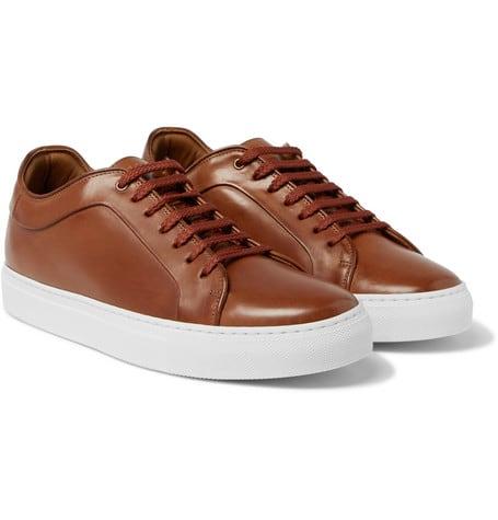 Luxe Digital best men luxury sneakers Paul Smith Basso Leather