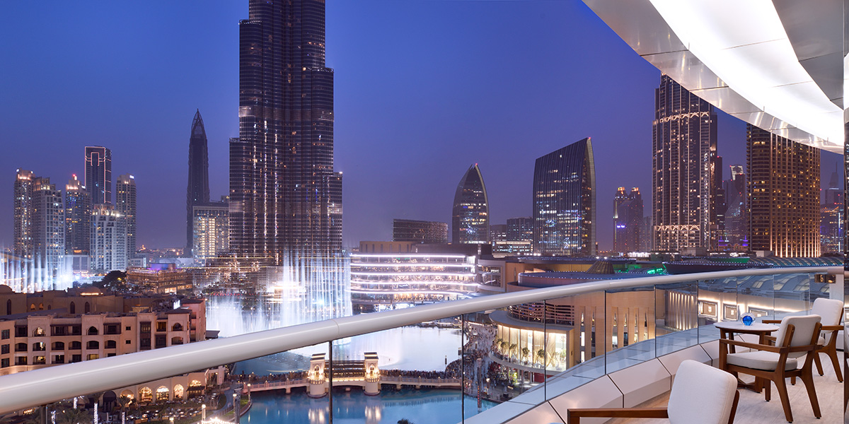 Iconic Luxury Hotel Address Downtown Opens Doors in Dubai