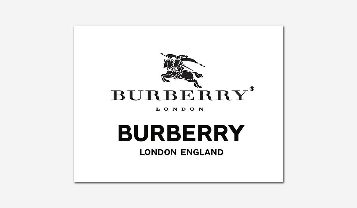 Best Luxury Brands Online Burberry Logo Change Luxe Digital