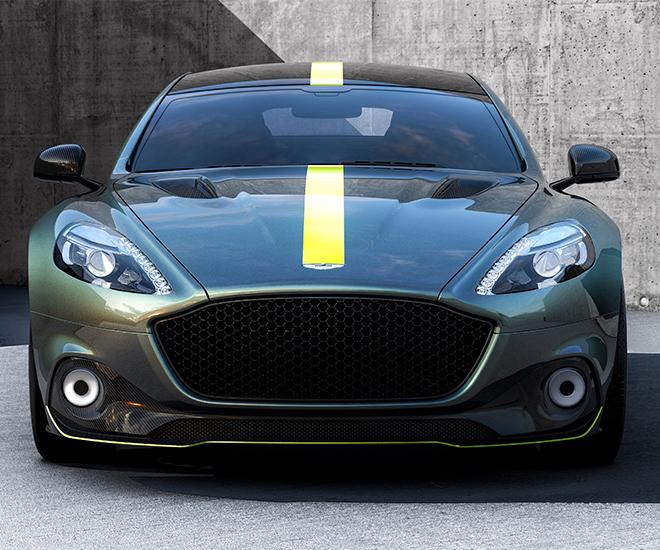 Luxury Car Launch: Aston Martin Electric Car RapidE Will