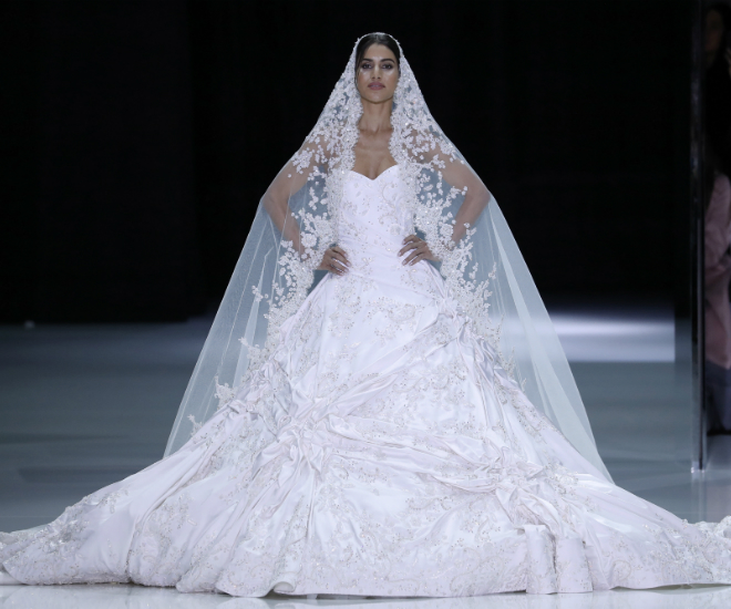 The Hottest Wedding Dresses From The Runway At Haute