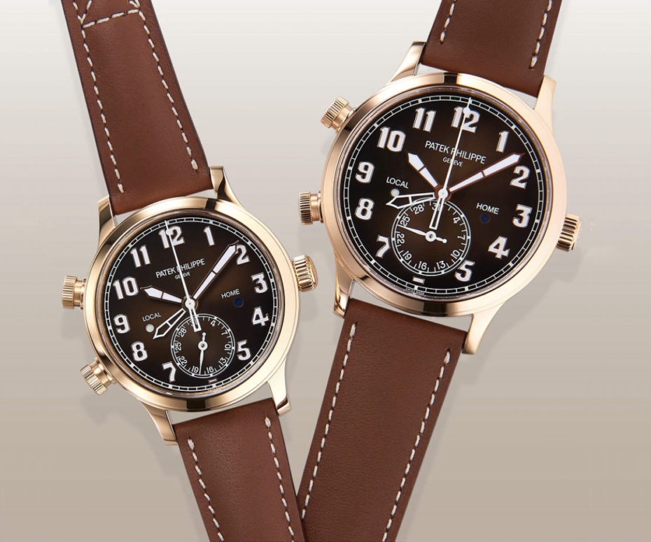 Patek's First Instagram Posts introduce His and Hers' Calatrava Pilot Travel Time
