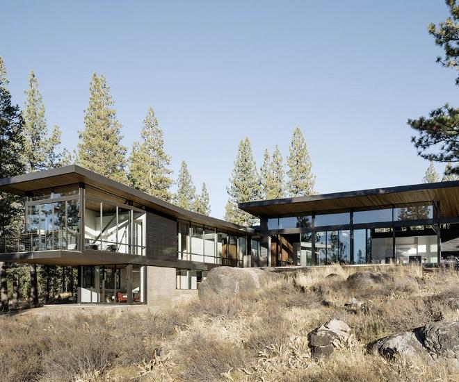 Lake Tahoe Luxury Homes: Glamping Done Right: John Maniscalco Martis Camp, Lake Tahoe