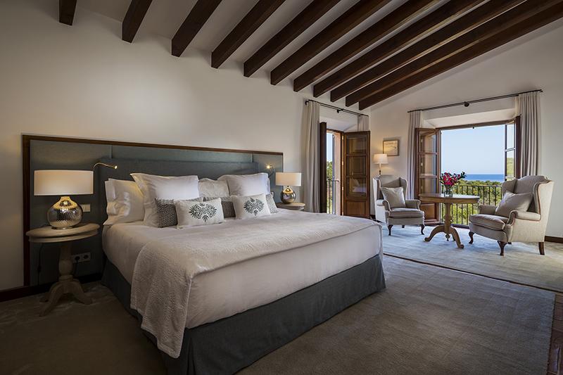 Kamar tidur Sa Terra Rotja Villa, Mallorca, Spanyol