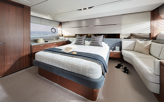 PRINCESS_S60-interior-owners-stateroon-in-American-Walnut-and-upholstered-satin