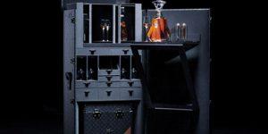 Louis Vuitton Paradis Impérial Trunk adalah travel case, bar, dan Cara untuk Menikmati Cognac