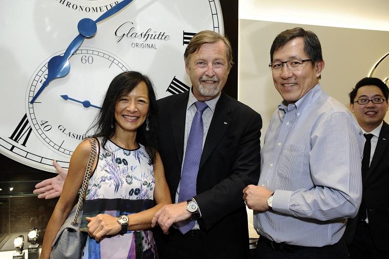 Mr. & Mrs. Koh Kok Keng and Mr. Yann Gamard