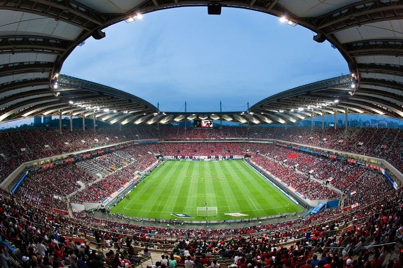 soccer game, Seoul World Cup Stadium