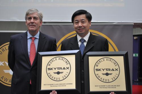 2011 Skytrack World's Best Airlines category