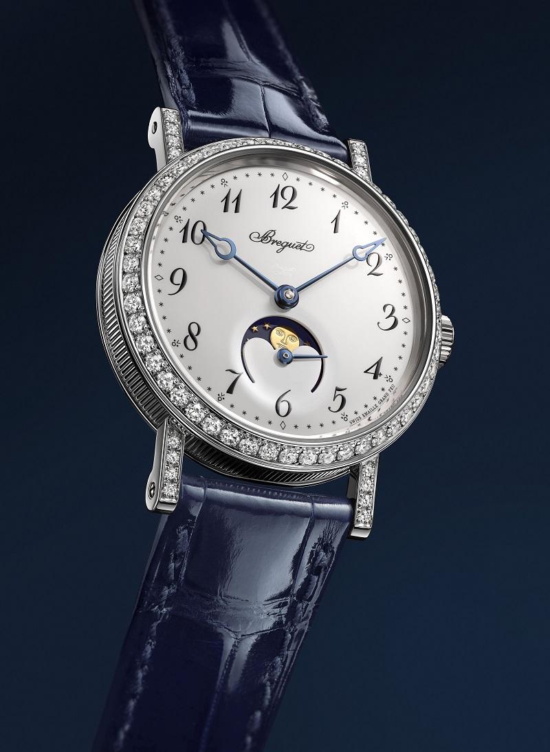 The Breguet Classique Phase de Lune Dame 9088 ladies' watch