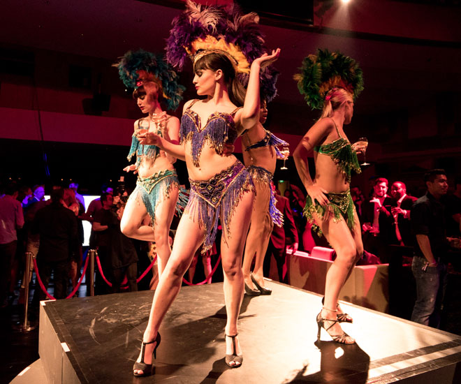 The Box performing at Boudoir Noire 2015. Image credits to Richard Chen