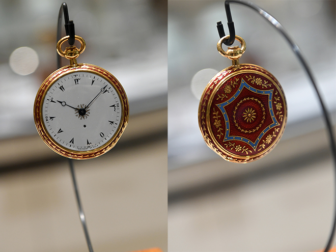 At Breguet Marina Bay Sands was the quarter repeating pocket watch N° 2952, made for the Turkish market in 1817.