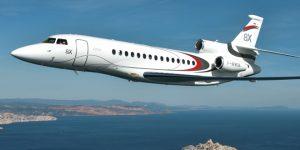 Luxury business jets 2017: Falcon 8X boasts trijet design