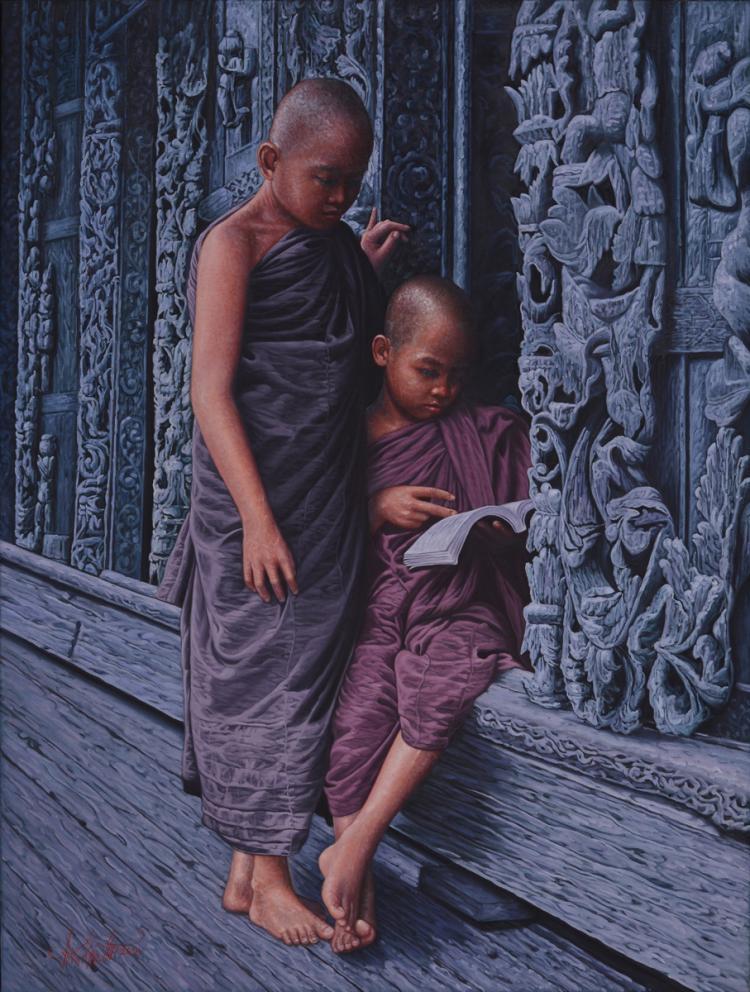 aung kyaw htet_reading together