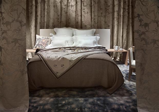 Hermes La Maison bedroom