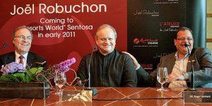 Top chef Joel Robuchon opens Singapore restaurants
