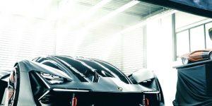 Lamborghini Reveals Electrifying New Concept Car