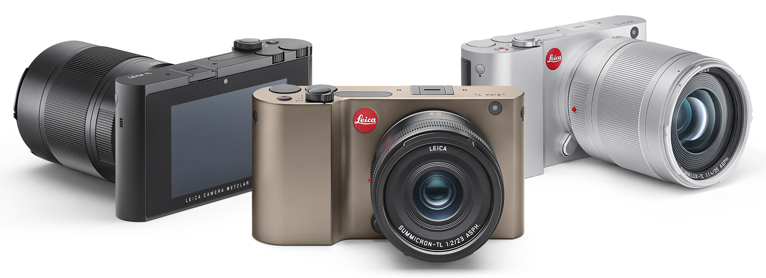 The unibody Leica TL is considered to be trendy and fashionable, aimed at catering to the design oriented market.
