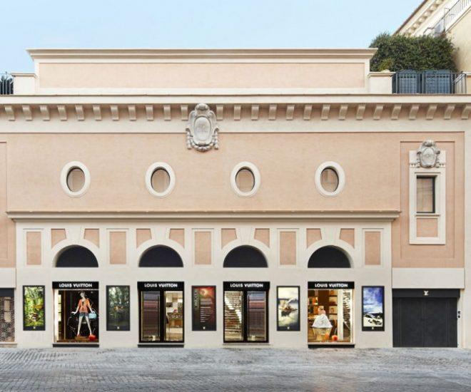 Louis Vuitton Roma Etoile boutique