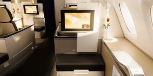 Luxurious first class cabins from Singapore Airlines, Emirates, Etihad and more