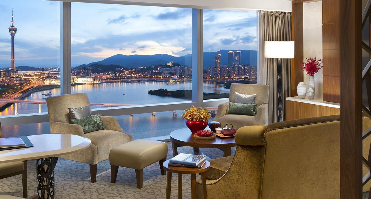 Macau Luxury Hotel suite