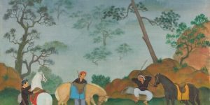 Art market in Vietnam: Painters Le Pho, Mai Trung Thu, and Vu Cao Dam's works prove popular among buyers