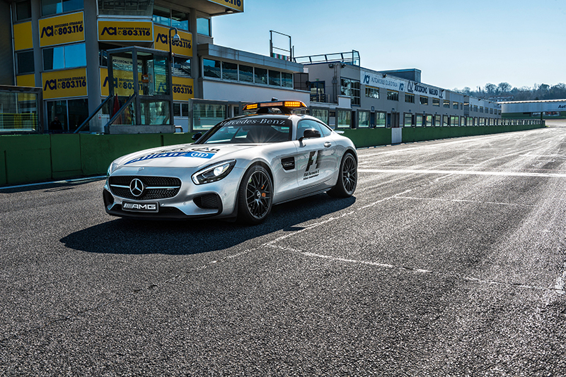 Mercedes AMG GT S Official Safety Car of the FIA Formula One World Championship