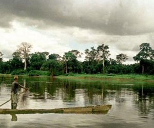 Ogou river Gabon