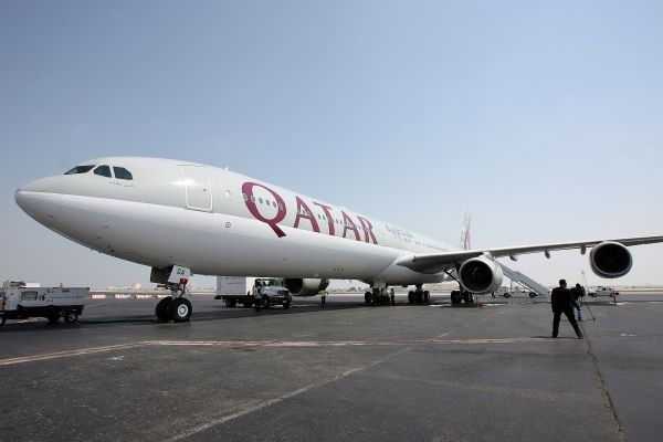 Qatar Airways Airbus A340-600