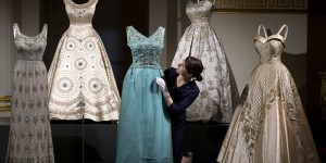 Queen Elizabeth II Wardrobe Exhibition, London