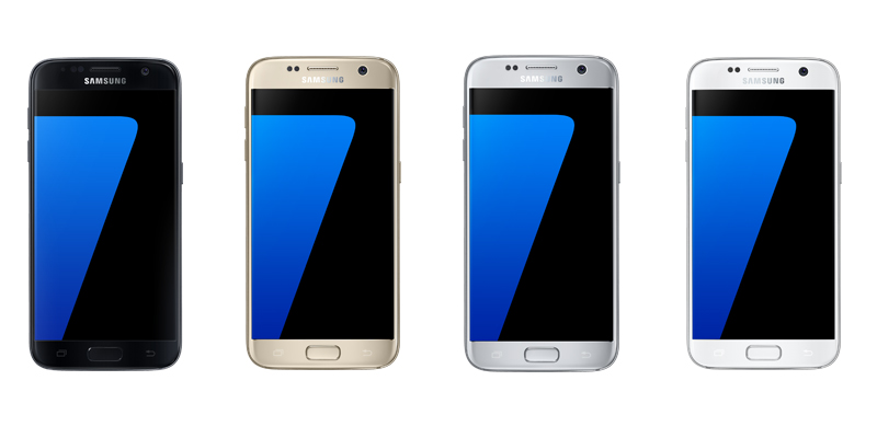 Samsung-Galaxy-S7-Four-colours
