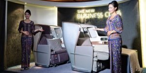 Singapore Airlines unveils new cabins
