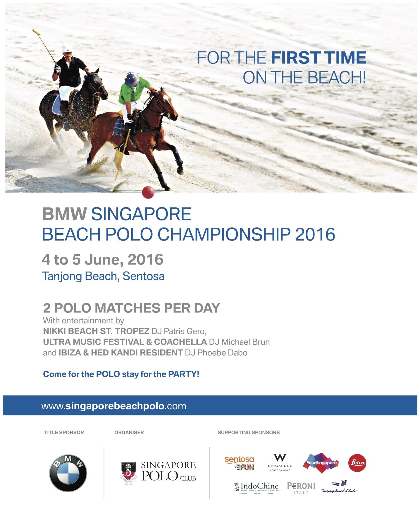 Singapore Beach Polo L'Officiel 220mm x 285mm