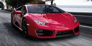Spot Lamborghini Huracan Rear Wheel Drive Coupe at Singapore Rendezvous 2017